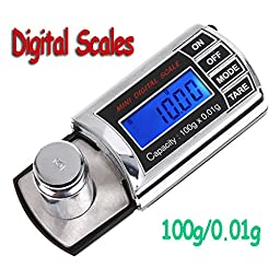 PyLios(TM) Protable Pocket Digital Mini Scale 0.01g-100g