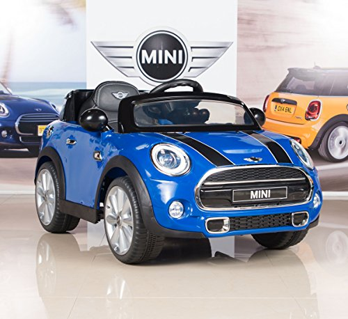 BigToysDirect-12V-MINI-Cooper-Kids-Electric-Ride-On-Car-with-MP3-and-Remote-Control-Blue