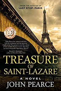 Treasure Of Saint-lazare: A Novel Of Paris by John Pearce ebook deal