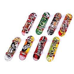 Imported 1Pc Mini Skateboard Finger Board Skate Boarding Kit