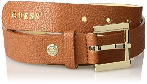 GUESS, CATE ADJUSTABLE BELT - BW6320VIN30 - Cintura da donna, colore cog cognac, taglia S
