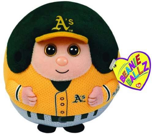Ty Beanie Ballz MLB Oakland Athletics Plush