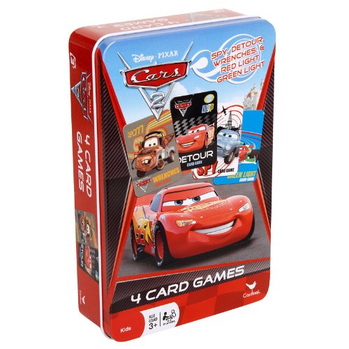 Disney-Pixar Cars 2 Card Games