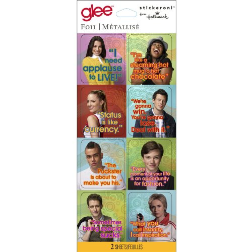 Stickeroni From Hallmark Glee (2 per package) - 1