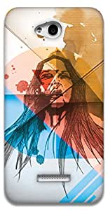 The Racoon Grip Wild hard plastic printed back case / cover for HTC Desire 616