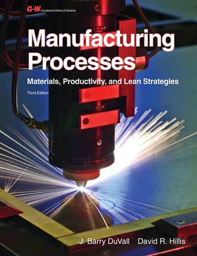 Manufacturing Processes: Materials, Productivity, and...