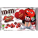 M&M's Valentine's Day Candies, Cherry Chocolate, 9.9-Ounce, 2 Bags