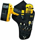 Custom Leathercraft 5023 Deluxe Cordless Poly Drill Holster