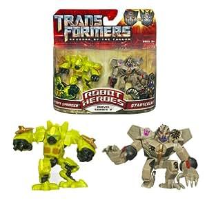 Transformers 2: Revenge of the Fallen Movie Robot Heroes 2-Pack Starscream Vs. Autobot Springer