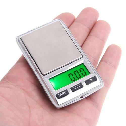 TOOGOO(R) Mini numerique Balance de poche Dua balance pour les bijoux Cuisine