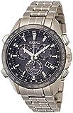 [セイコー]SEIKO 腕時計 ASTRON アストロン第2世代 ホワイトダイヤル チタン ソーラーGPS衛星電波修正 サファイアガラス スーパークリア コーティング 日常生活用強化防水 (10気圧) SBXB003 メンズ