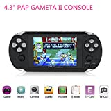 Handheld Game Console,HLZKU 64Bit Classic Video Game Players 4.3