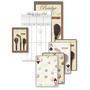 Tee Time- Bridge Playing Cards Gift Set