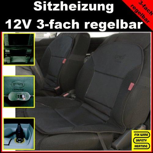 PKW 12V Sitzauflage Sitzheizung Heizkissen heizbar