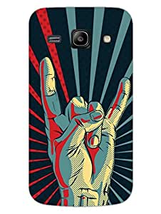 Yo Youth Rebel Symbol - Hard Back Case Cover for Samsung Core Prime - Superior Matte Finish - HD Printed Cases and Covers