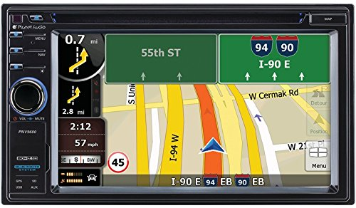 Double Din Navigation Bluetooth