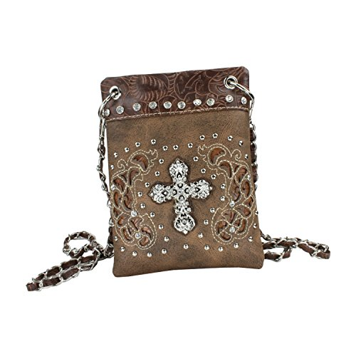 Mini Cross Body Purse - Adjust Chain Strap to Wear Around Waist or Over Shoulder