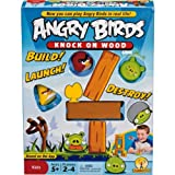 Distinctive Angry Birds Knock on Wood Game with accompanying TT6 Card Game