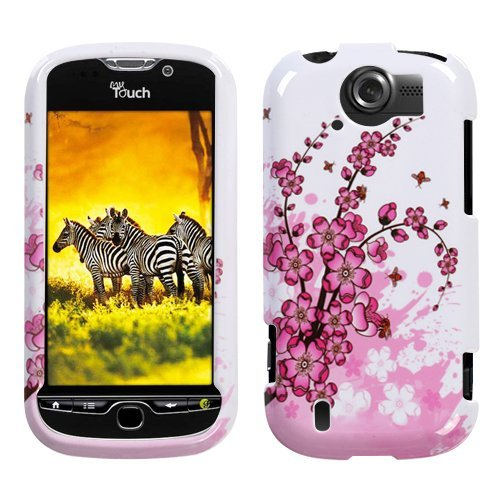 HTC Mytouch 4g Slide Accessory - Cherries Flower Blossom in Spring Design Protective Hard Case Cover for TMobile