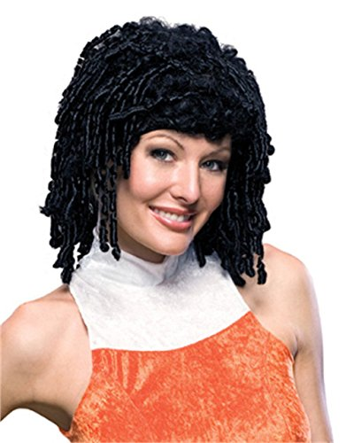 [Rubie's Costume Curly Cutie Wig, Black, One Size] (Cutie Rag Doll Costumes)