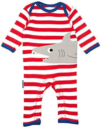 Toby Tiger Shark Romper Baby Boy s Grow Amazon