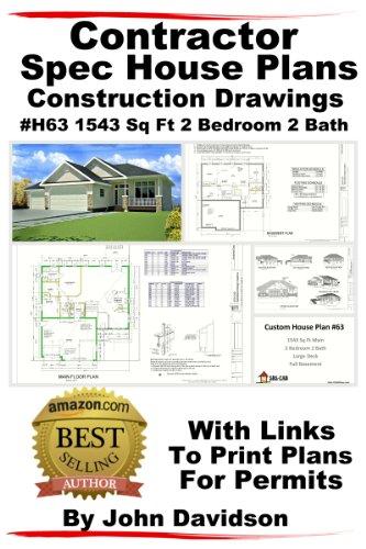 Download contractor spec house plans blueprints for Spec house plans