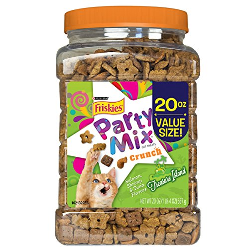 Purina friskies party mix treasure pets bond for Purina tropical fish food