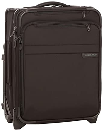Briggs & Riley @ Baseline Luggage Baseline Commuter Expandable Upright Suitcase, Black, Medium