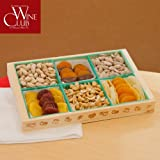Assorted Dried fruit Tray with Nuts (2lb). The Perfect Gift for Holidays or Any Occasion