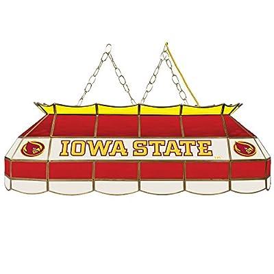 "NCAA Iowa State University Tiffany Gameroom Lamp, 40"""