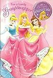 Hallmark Disney Princess Large Granddaughter Birthday Card With Birthday Princess Badge