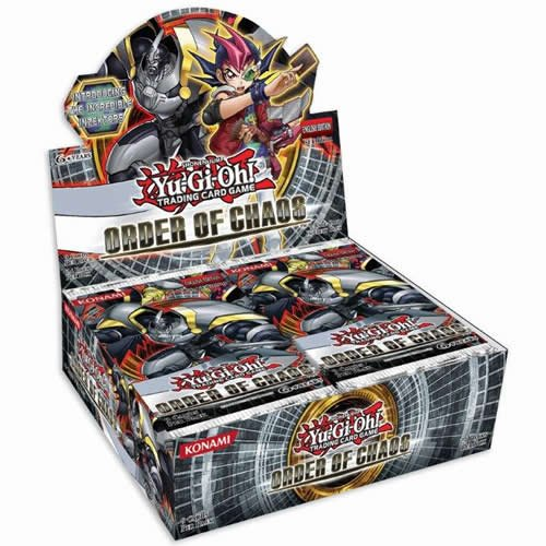 Yu-Gi-Oh! Order of Chaos Booster Box (24 packs)