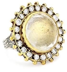 bora clear quartz ring size 7 jewelry