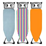Home & Garden Direct Minky Easy Fit Elasticated Ironing Board Cover 122cm x 43cm Assorted Designs