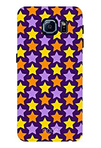 Noise Twinkle-Dark Printed Cover for Samsung Galaxy S6