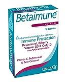 HealthAid Betaimune - Resveratrol, Mixed Carotenoids, Pine Bark -30 Capsules