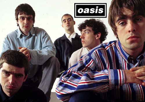 "Salopian Sales - Stampa su poster A3 ""Oasis - 2 - Noel & Liam Gallagher"""