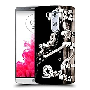 Snoogg Converse Shoes Designer Protective Back Case Cover For LG G3 STYLUS