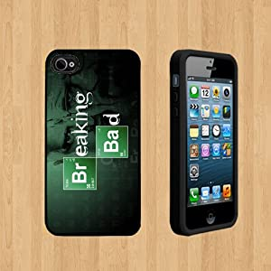 The Breaking Bad copy Custom Case/Cover FOR Apple iPhone 5 BLACK Rubber Case ( Ship From CA )
