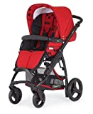 Bebecar Ip-op Pushchair Black Chassis (Poppy)