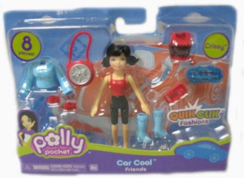 Picture of Mattel Polly Pocket Quick Clik Car Coll Friends Crissy Doll Set Figure (B000NLTQ5Q) (Mattel Action Figures)