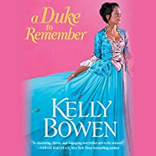 A Duke to Remember Audiobook by Kelly Bowen Narrated by Ashford McNab