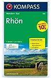 Rhön: Wanderkarten-Set mit Aktiv Guide. GPS-genau. 1:50000
