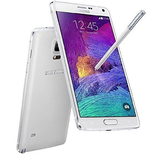 Samsung Galaxy Note 4 LTE SIMフリー (White ホワイト 白) 【並行輸入品】