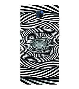 PrintVisa Corporate Print & Pattern Modern Art 3D Hard Polycarbonate Designer Back Case Cover for One Plus 3