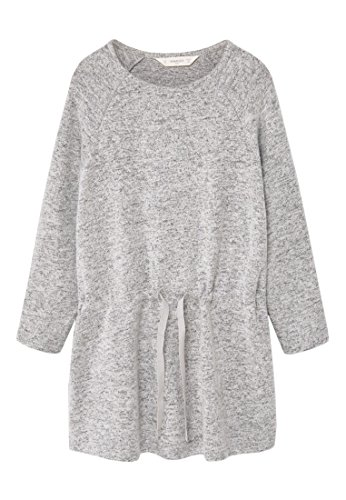 mango-kids-robe-robe-jaspee-taille13-14-ans-couleurgris-chine-clair