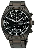 Seiko Men's SNN233 Chronograph Black Dial Watch