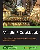 Vaadin 7 Cookbook