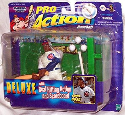 Pro Action Baseball 1999 MLB's Sammy Sosa Action Figure - 1