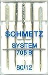 Schmetz 705B Bernina Needle Sz 12/80 5 Pk